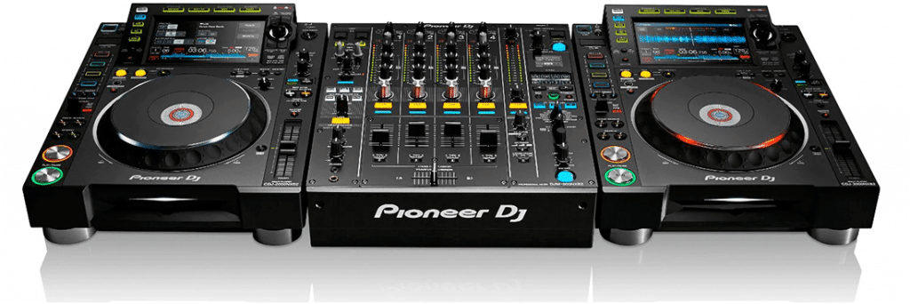 Pioneer NXS2 DJ set